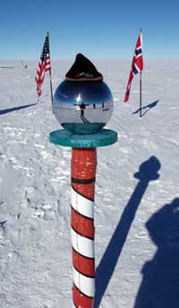 W. Soule Visits The South Pole