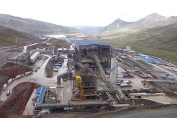 Copper Mine in Peru