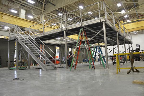 Platform & Stair fabrication