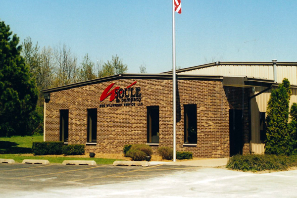 W. Soule Millwright building in 1996