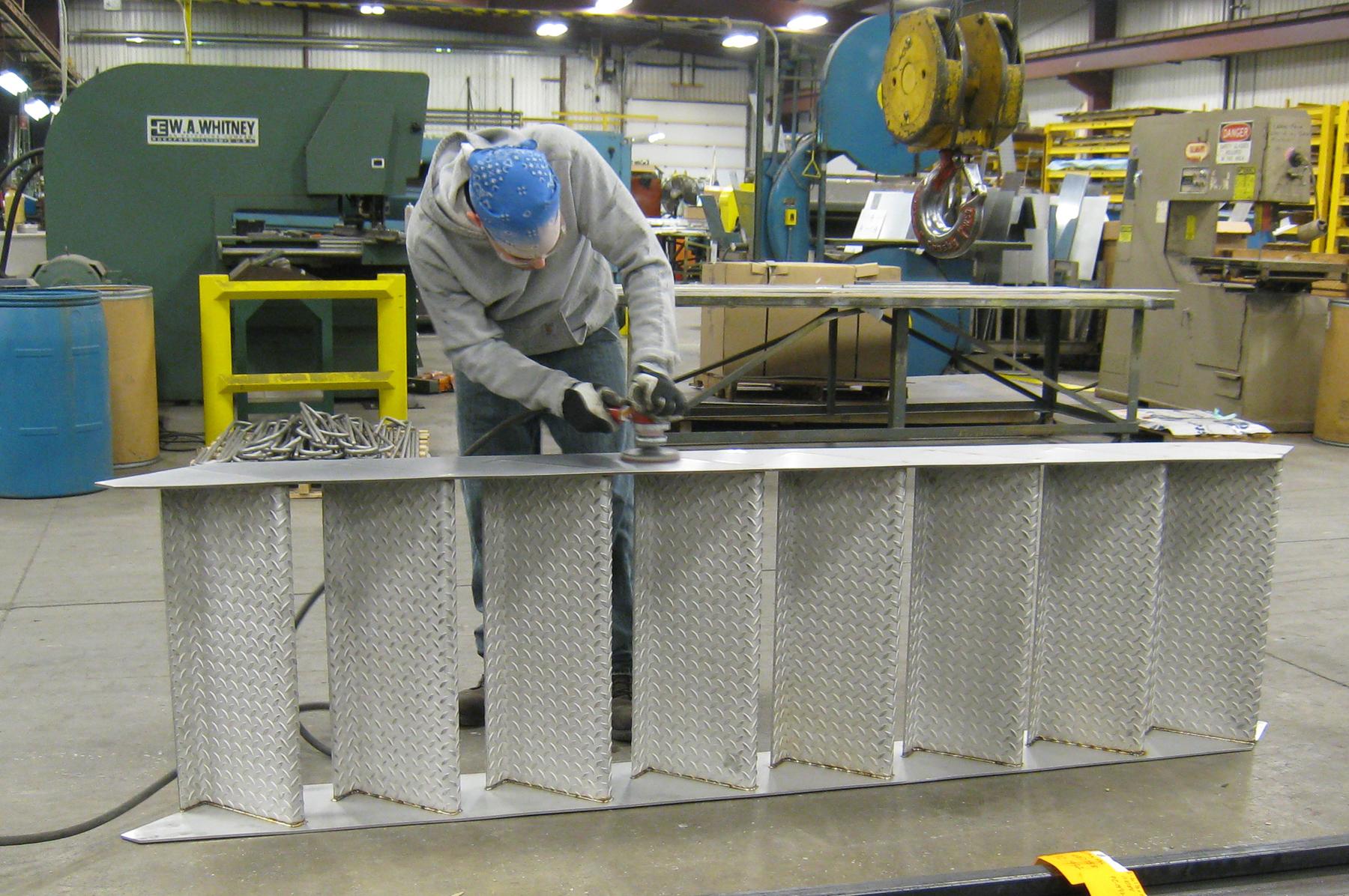 metal stair fabrication