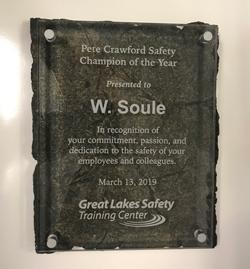 Crawford Safety Award 2019